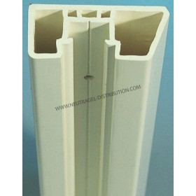 Lisse de protection 70 x 30 mm