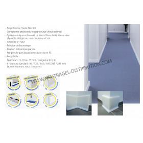 Plinthe polyéthylène avec...