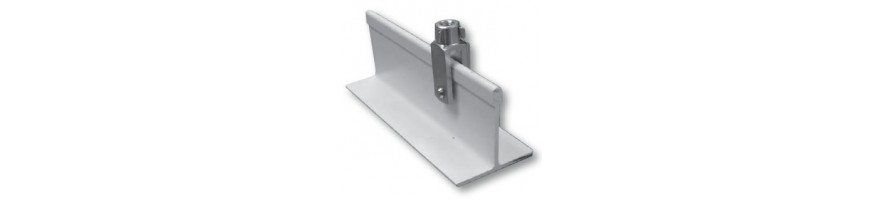 """""""T"""" de suspente aluminium et polyester"""