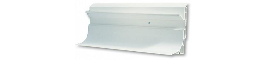 Hauteur100 mm PVC renforcé avec cache-vis
